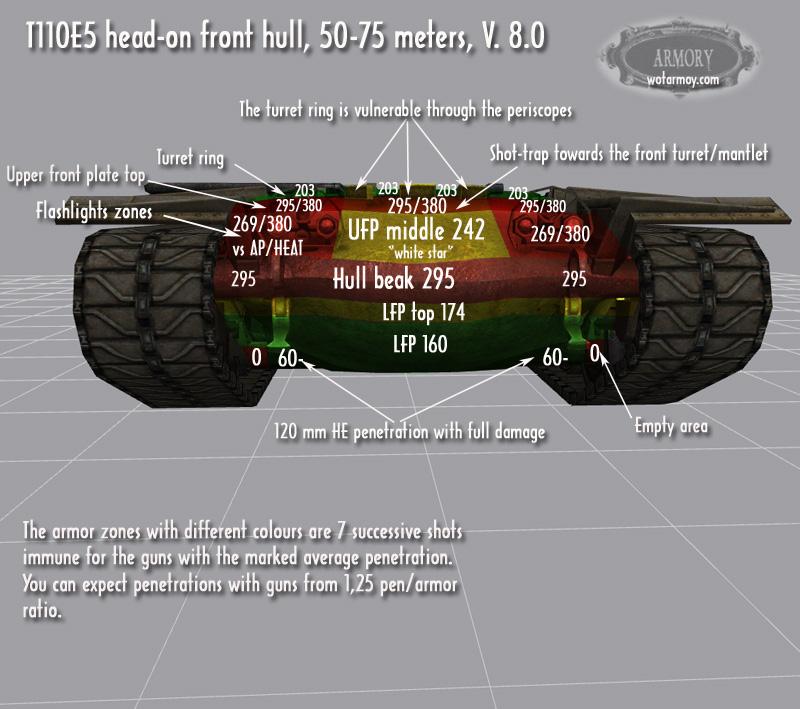 T110E5 hull 8.0
